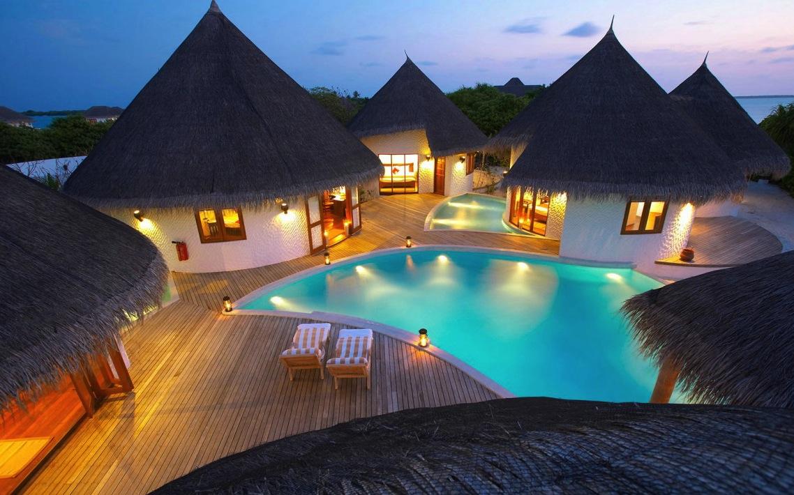 马尔代夫fun island欢乐岛4晚住宿(含早晚餐 快艇接送)   5998元