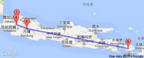 世界地图印尼的巴厘岛