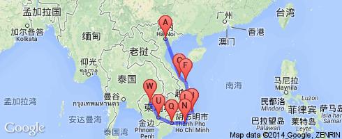 超实用中文标注地图》