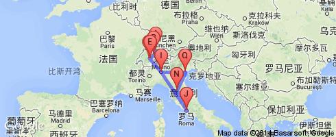 瑞士行程单_瑞士签证行程单模板