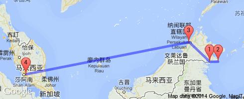 马来西亚沙巴,如果真的有天堂(马布岛,亚庇)》